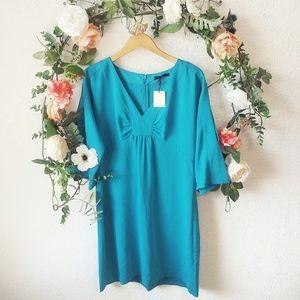 Trina Turk Dresses - Trina Turk Sarai Solid Cold Shoulder Sheath Dress
